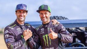 Armand Monleón y Gerard Farrés, juntos en el Dakar