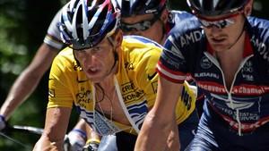Armstrong, en el Tour de 2004