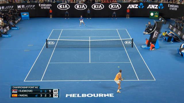 Así ganó Djokovic el punto final