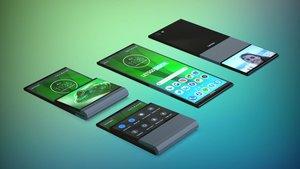 Así sería el smartphone plegable de Lenovo