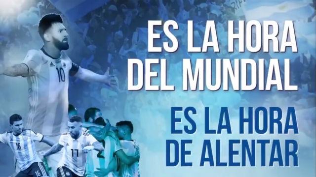 Así es el vídeo promocional de Argentina para el Mundial