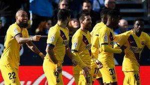 El Barça acabó ganando