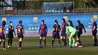 El Barça femenino vuelve al trabajo tras el empate del derbi