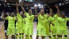 El Barça Lassa celebró el pase a su sexta Final Four