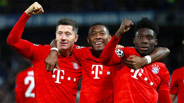 El Bayern atropella al Chelsea