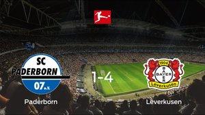 El Bayern Leverkusen se pasea frente al Paderborn sin apenas obstáculos (1-4)