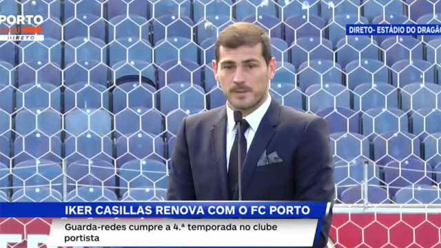 Casillas, agradecido al Oporto: Apostar por alguien de 37 años no es fácil