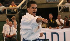 Cleiver Casanova llegó a estar ubicado en el puesto 4 del ranking mundial de karate