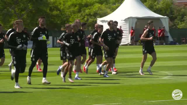 Coman ya entrena con el Bayern