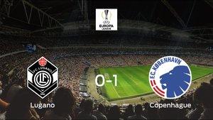 El Copenhague vence 0-1 en casa del FC Lugano