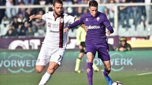 Cristian Tello se siente muy feliz jugando en la Fiorentina