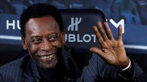 Se cumplen 50 años del gol número 1000 de Pelé
