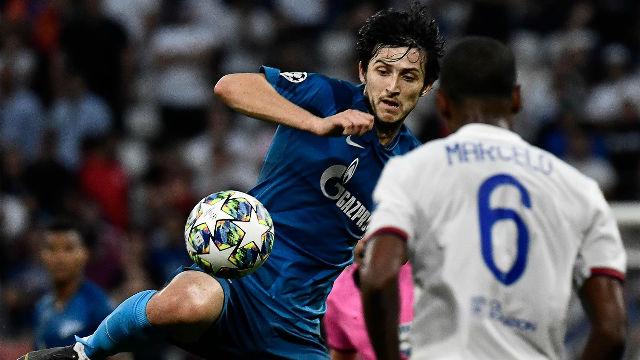 Empate entre Olympique y Zenit