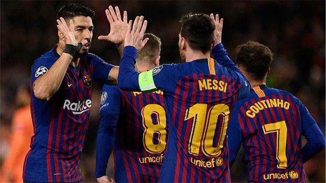 Este es el 1x1 del Barça al descanso
