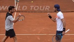 Feliciano y Marc ya están en la penúltima ronda de Roland Garros