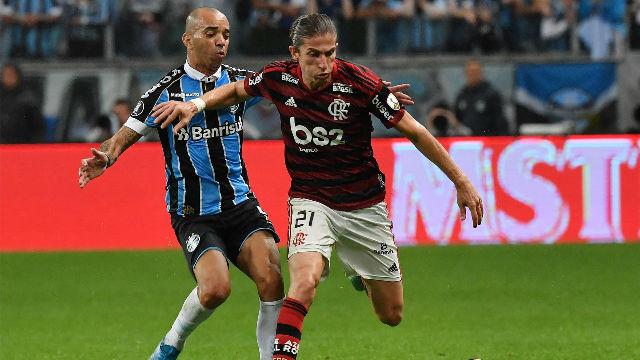 Ganar Libertadores no le sacará a Filipe Luis la espinita de la Champions