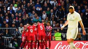 El Girona tomó el Bernabéu