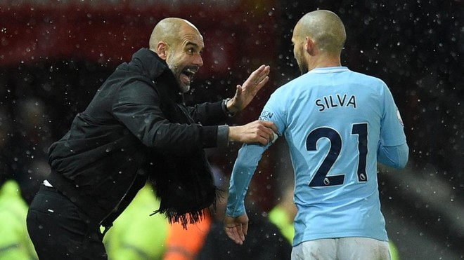 "Pep Guardiola: ""David Silva es un animal"""