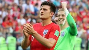 Harry Maguire completó un gran Mundial con Inglaterra