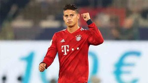 James Rodríguez, estrella colombiana del Bayern Munich