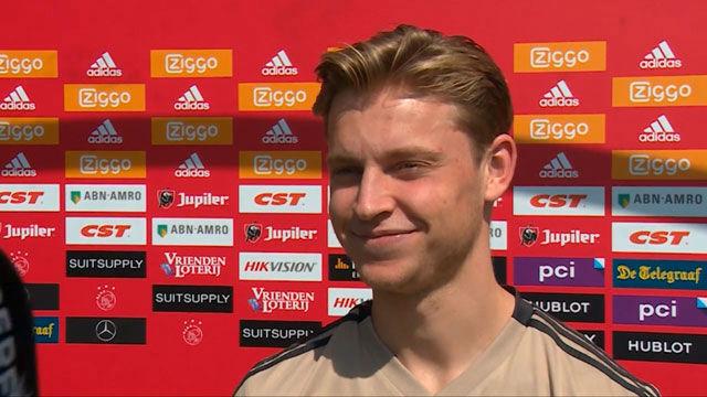 De Jong: De Ligt tiene que decidir si viene al Barça