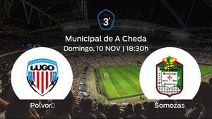 Jornada 12 de la Tercera División: previa del duelo Polvorín - Somozas