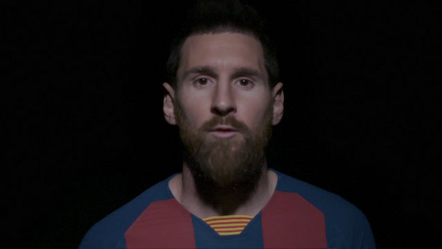 Leo Messi, protagonista en el anuncio conmemorativo del 25 cumpleaños de la Fundació Barça