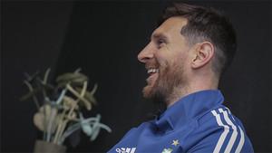 Leo Messi quiere volver a ganar la Champions