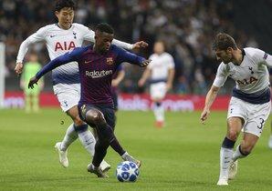 Liga de Campeones Tottenham-FC Barcelona (2-4)