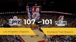 Los Angeles Clippers logra la victoria frente a Portland Trail Blazers por 107-101