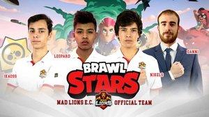 Los componentes del equipo de Brawl Stars