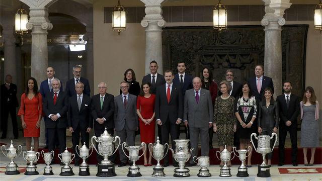 Los reyes de España entregan los Premios Nacionales del Deporte 2017