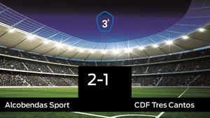 Los tres puntos se quedaron en casa: Alcobendas Sport 2-1 Tres Cantos