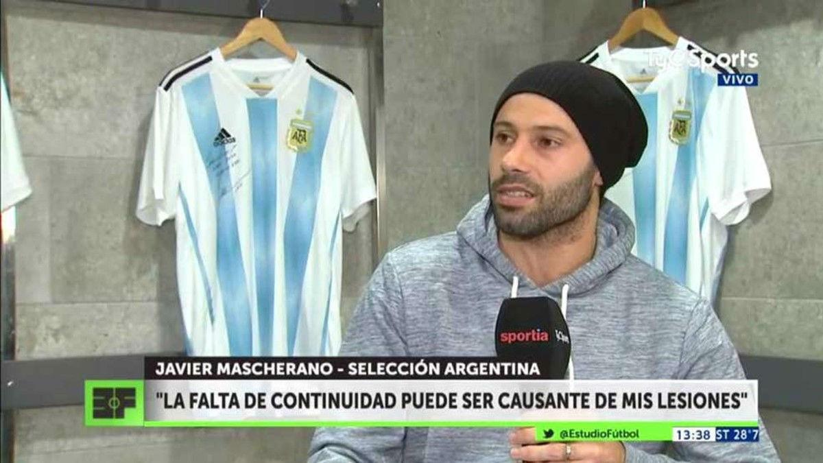 Mascherano habló muy claro sobre su posibilidad en el club
