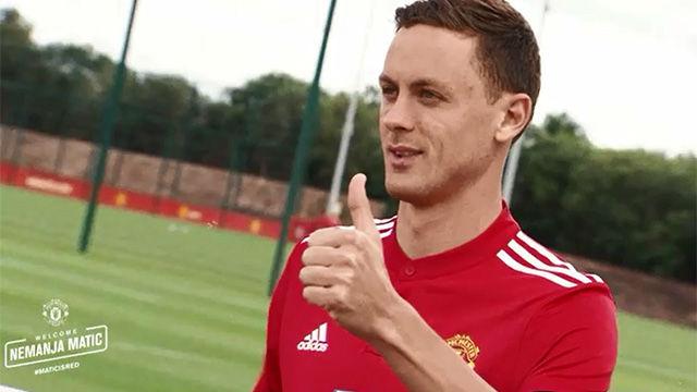 Matic, nuevo jugador del Manchester United