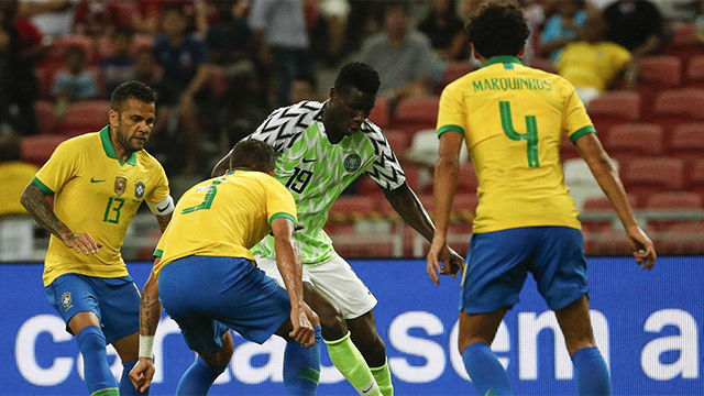 Lo mejor del Brasil-Nigeria