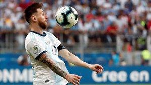 Messi, en la Copa América