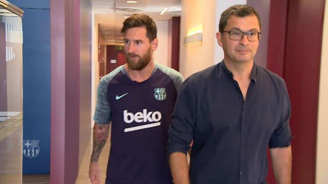 Messi regresa como nuevo capitán del FC Barcelona