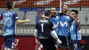 Movistar Inter ha superado todos los obstáculos en Málaga