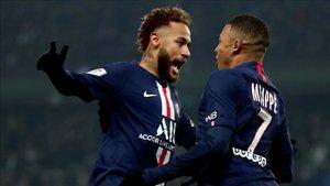 Neymar y Mbappé no están cómodos en París