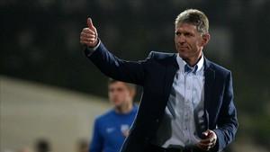 El nuevo entrenador de la selección checa, Jaroslav Silhavy