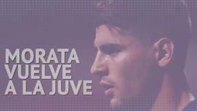 Oficial: Morata regresa a la Juventus como cedido