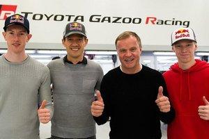 Ogier, punta de lanza de la nueva formación de Toyota en el WRC
