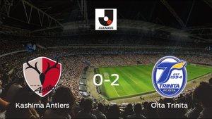 El Oita Trinita consigue los tres puntos tras derrotar 0-2 al Kashima Antlers