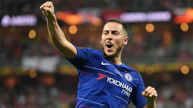 Para guardar: La exhibición de Hazard para despedirse del Chelsea