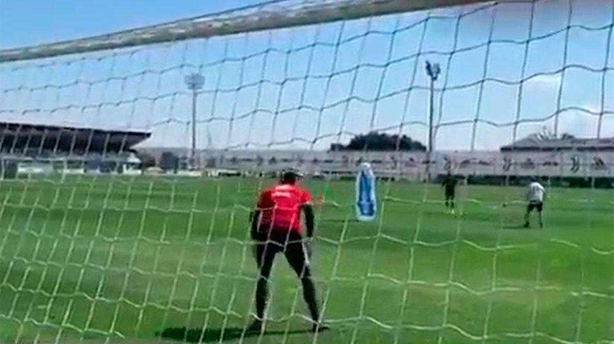 ¿Perfección o humillación? Así entrena los lanzamientos Cristiano Ronaldo