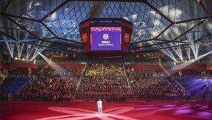 Presentación de los deportes amateurs en el Palau Blaugrana