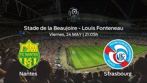 Previa del encuentro: el Strasbourg viaja al estadio del Nantes para acabar el campeonato