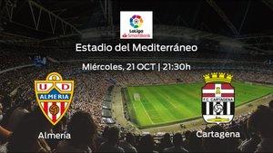 Previa del partido: Almería - Cartagena
