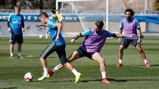 El Real Madrid prepara el encuentro contra el Levante